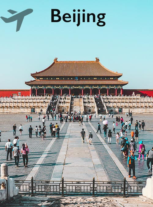 Beijing is a bustling city like no other