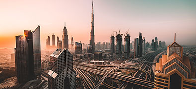 There is a lot to see in the city centre of Dubai