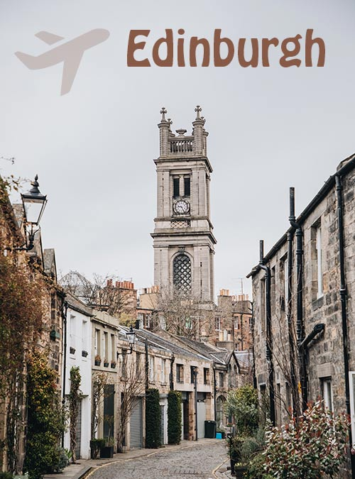 Edinburgh is a city that begs to be discovered, explore this Scottish city