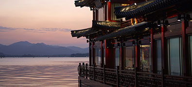 The Chinese Hangzhou is the capital of the east coast province of Zhejiang.