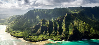 Big Island (official name: Hawaii) is the largest island in the USA's Hawaiian archipelago in the Central Pacific.