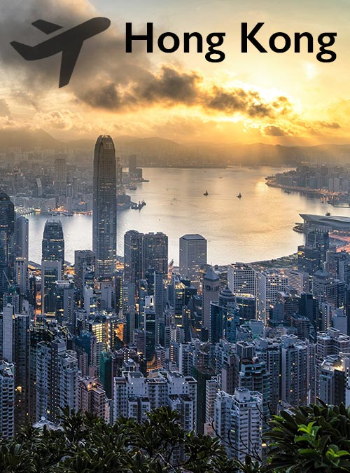 Hong Kong is known for its high population per square kilometre