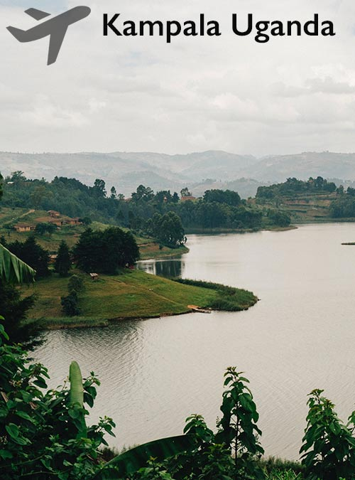 Uganda's capital city of Kampala borders Lake Victoria, Africa's largest lake