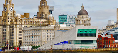 In the northwest of England lies Liverpool, one of Britain's most important seaports.