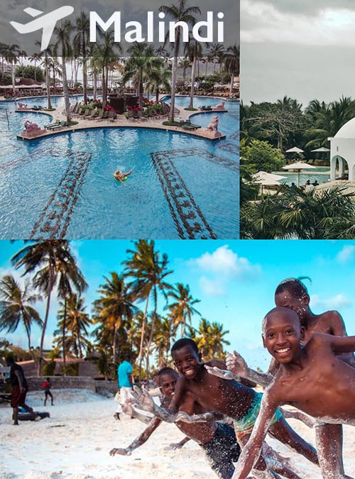 Make the most of your Kenya beach vacation and travel to Malindi.