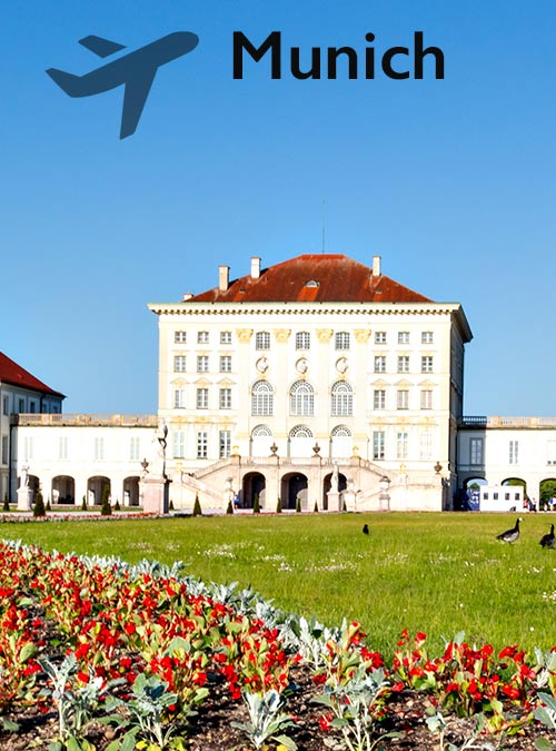 Munich's cityscape is characterised by centuries-old buildings and numerous museums.