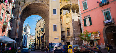 The region around Naples is an extremely interesting area for tourists.