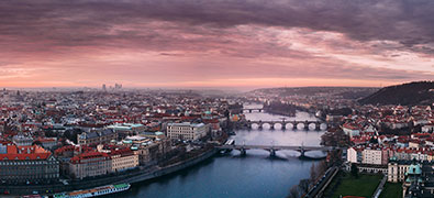 Prague, the city of a hundred towers, UNESCO monument and one of the most beautiful cities in the world.