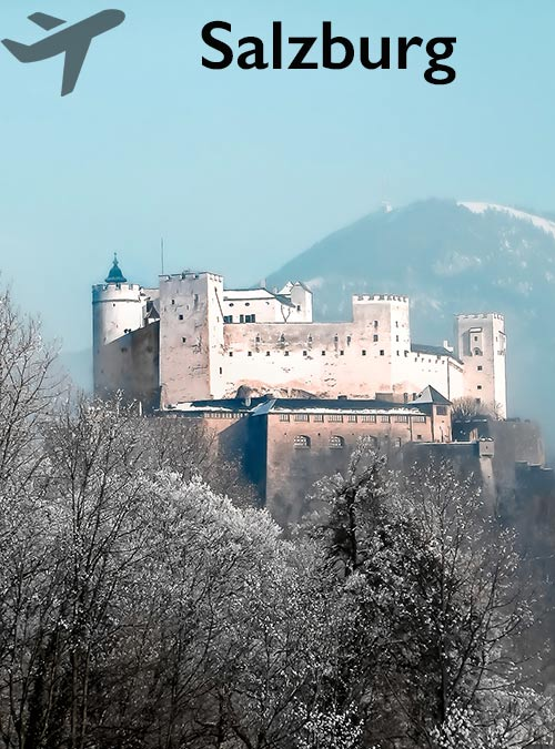 Large parts of Salzburg's Old Town are UNESCO World Heritage Sites