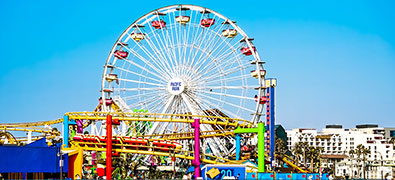 Santa Monica is the perfect beach town with a wide variety of attractions