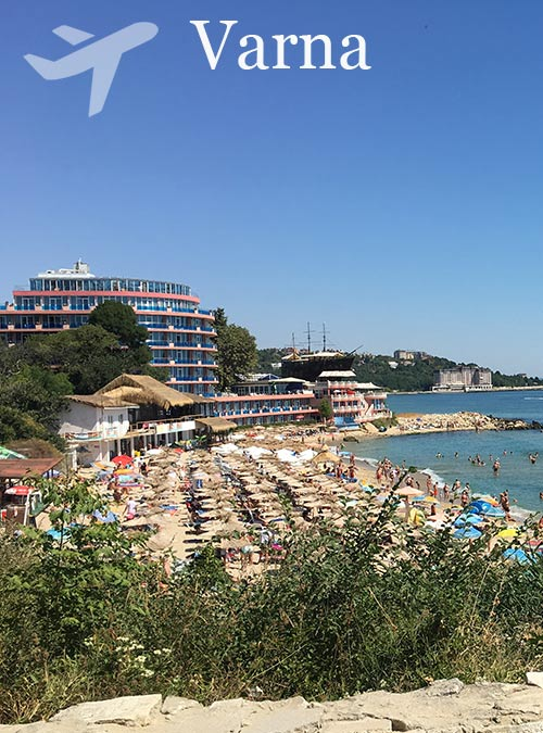 Varna is the third largest city of Bulgaria and one of the most important tourist centers of the country.