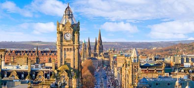 Explore an Edinburgh holiday and discover the best time and places to visit.